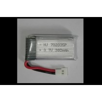 3.7v  380 mAh Lipo Battery
