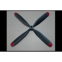 Propeller / Blade 10x8 Four Blade FMS CNM