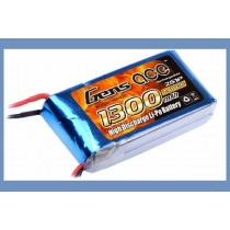 Gens Ace 7.4v 1300 mAh 25C Lipo Battery