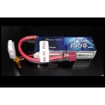 Gens Ace 11.1v 1550 mAh 25C Lipo Battery