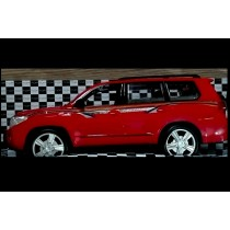 Land Cruiser -  Remote Control Car - Red Color