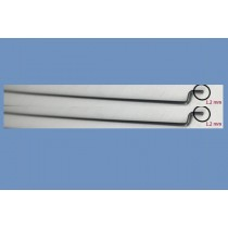 Push Pull steel Rod 1.2 mm for Rudder
