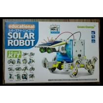 Solar Robot - Educational 14-in-1 Kit