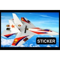 Sticker for Su-27 RC Airplane Kit - A