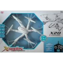 X20 - Hexacopter 2.4G  Quadopter Mode 2 RTF
